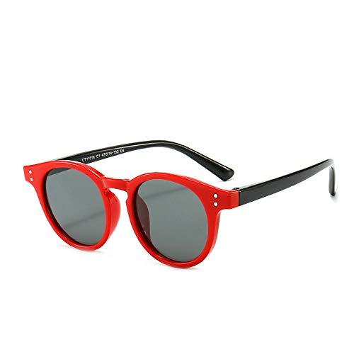 TOORY mural Outdoor Sonnenschutz Sonnenbrille klassische Kinder Silikon Sonnenbrille Jungen und Mädchen universelle runde Rahmen farblich abgestimmte Sonnenbrille Outdoor Sonnenschutz Spiegel-4