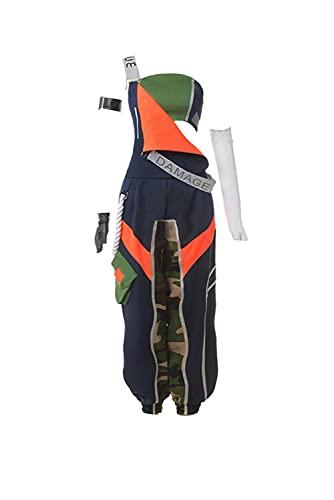 Enhopty League LOL KDA Akali Coat Vest Disfraz Halloween Carnival Suit Cosplay Costume Mujer XXL