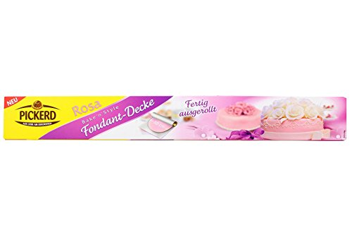 Pickerd - Fondant Decke rosa - 430g