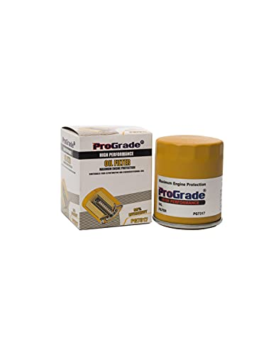 ProGrade PG7317 High Protection Anti-Slip Grip Control Spin-on Oil Filter for Maximum Engine Protection