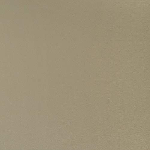 Piel sintética, por metros, ignífuga, color beige, funda de tela, acolchado impermeable, resistente a orina, resistente al cloro y a los desinfectantes