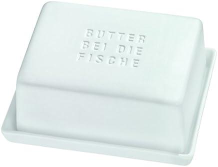 Butterdose Butterbehälter Butter BEI DIE Fische Poesie et Table. Breakfast Räder preisvergleich bei geschirr-verleih.eu