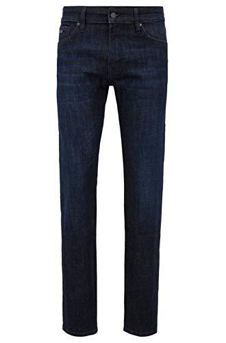 BOSS Herren Maine Bc-p Straight Jeans, Blau (Navy 417), 34W / 34L