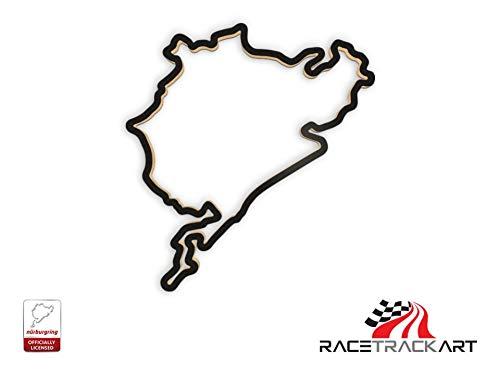 Racetrackart Nürburgring Gesamtstrecke - 23cm Breite
