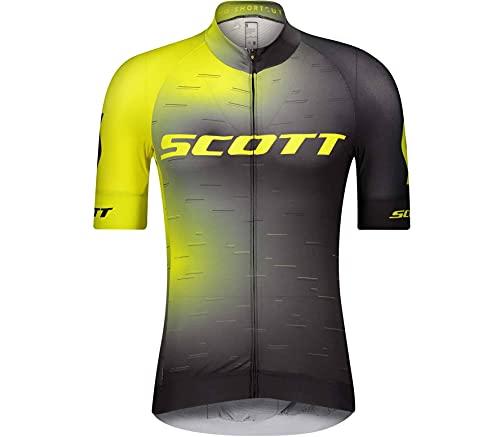 Scott RC Pro Fahrrad Trikot kurz gelb/schwarz 2021: Größe: M (46/48)