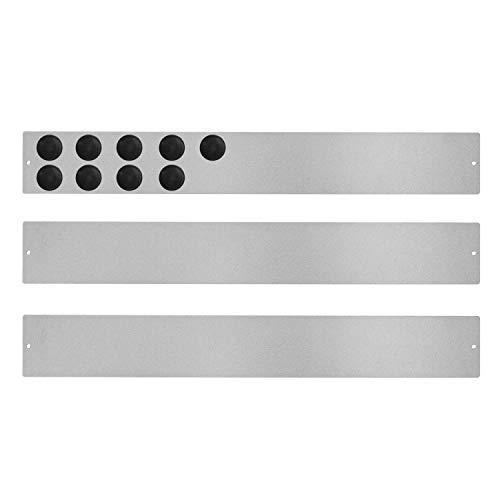 Pack de 3 Tableros Recordatorios Adhesivos y 9 Imanes Incluidos (40 x 5,5 cm), Pizarras Magnéticas, Tableros Magnéticos, Paneles Magnéticos