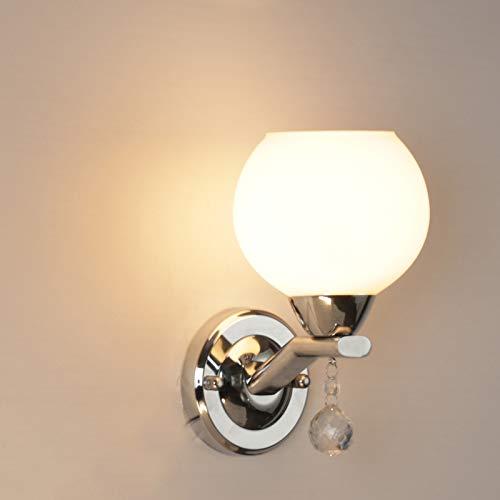 Iluminación moderna de soporte más iluminación de pared de hierro iluminación interior europea - lámpara de pared - sala de estar estadounidense canal de Investigación TV retroiluminación LED E27