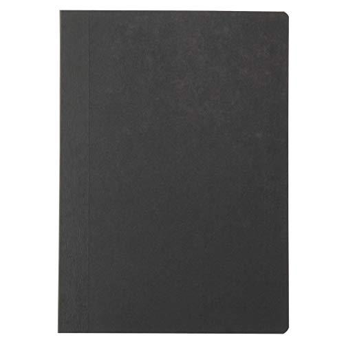 MUJI Notizbuch, A6, liniert, Schwarz