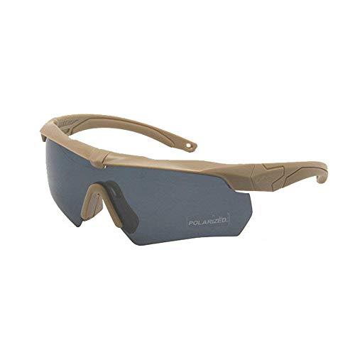 ZoliTime ESS Crossbow Photochrome Ballistic Eyeshields Brille (Sprechen, 3 Linsen)