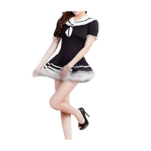 niceday Frauen Sexy Dessous Sexy Lingerie Sexy Studenten Spiel Japanische Uniform Versuchung Rollenspiele Rollenspiel Kostüme Nachtwäsche Nachtwäsche