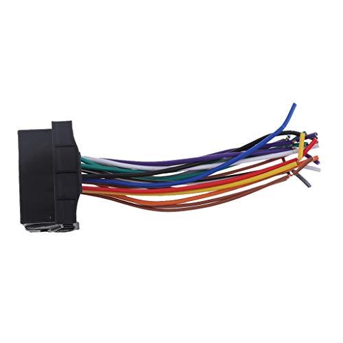 Tucson Voiture stereo cablage Harness Accessoires de Fil Audio pour Touran Passat Sagitar Installation Facile