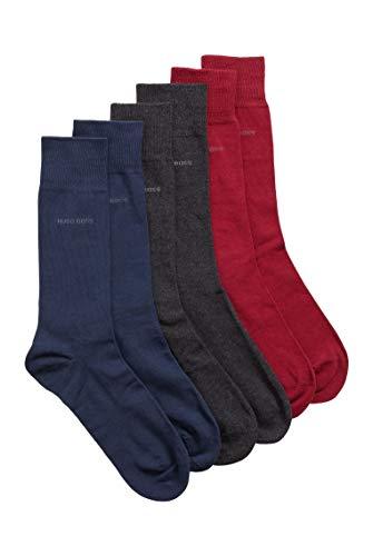 BOSS Herren 3P RS Gift Set UniCC Mittelhohe Socken mit Logo im Dreier-Pack