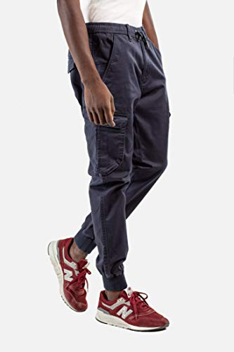 Reell Jeans Herren Cargohosen Reflex Rib blau XL