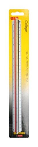 Aristo Dreikantmaßstab GeoCollege (Kunststoff, 30 cm) weiß