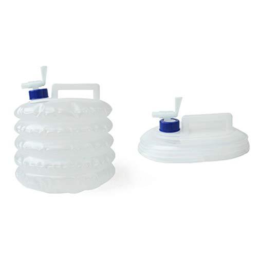 BECCYYLY Cubo al aire libre plegable bolsa de agua camping picnic agua barbacoa grifo plegable