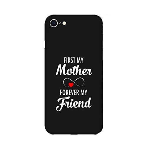 Funda iPhone 6 plus Carcasa Apple iPhone 6 plus Día de la madre mi madre para siempre mi amiga / Cubierta Imprimir también en los lados / Cover Antideslizante Antideslizante Antiarañazos Resistente
