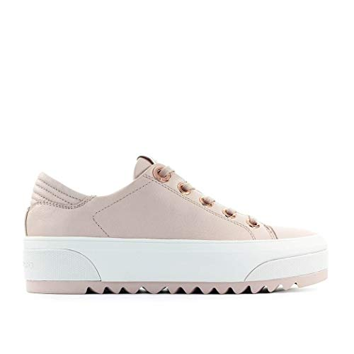 Luxury Fashion | Michael Kors Dames 43R0KEFS2L187 Roze Leer Sneakers | Lente-zomer 20