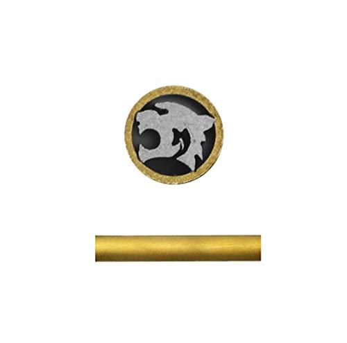 Mosaic rivets For Knife handle,diameter 6mm mosaic screw nail,hunting knives fastener pins,length 4.5cm (tiger)