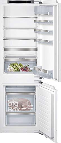 Siemens KI86SADE0 iQ500 Einbau-Kühlgefrierkombination / E / 219 kWh/Jahr / 266 l / lowFrost / hyperFresh Premium 0° / LED Beleuchtung