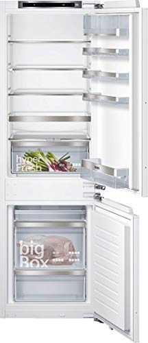 Siemens KI86SADE0 iQ500 - Congelador integrado (E, 219 kWh/año, 266 l, LowFrost, hyperFresh Premium 0°, iluminación LED)