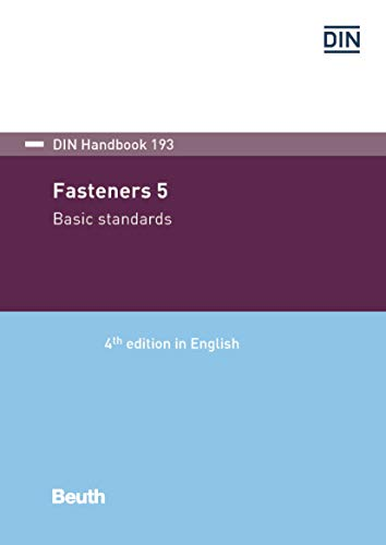Fasteners 5: Basic standards (DIN_Handbook) (English Edition)