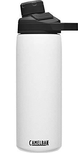 CAMELBAK Unisex– Erwachsene Chute Mag SST Vacuum Insulated Trinkflasche, White, 20oz