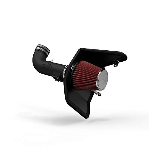 K&N Cold Air Intake Kit: High Performance, Increase Horsepower: Compatible with 2010-2015 Chevy Camaro, 6.2L V8,63-3074