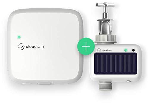CloudRain Start-Set: Smarte Garten-Bewässerung per Funk & Solar