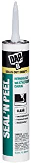 Dap 18354 Seal 'N Peel Removable Caulk, 10.1-Ounce