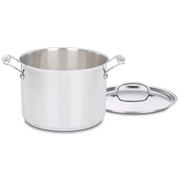 Cuisinart 766-24 Chef's Classic 8-Quart Stockpot with Cover