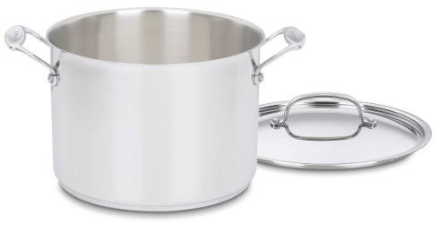 Cuisinart Chef's Classic 8-Quart Stockpot with Cover, silver