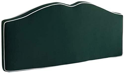 Sängkudde Huvudgavel Säng Kudde Säng Kudde Gavel Rygg sängen och läsa Pillow bäddsoffa Rygg Positioning Support Kudde Bed Kudde kudde (Color : Green, Size : 150CM)