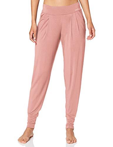Calvin Klein Damen L/s Pyjama, Pink (Alluring Blush ABH), Small