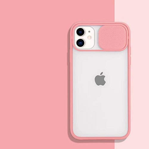 WGOUT Slide Camera Lens Protection Telefonhülle für iPhone 11 Pro 12Pro XR XS Max 6S 7 8 Plus X Matt Transparent Soft Back Cover Shell, T2, Für iPhone 11