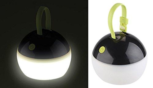 Lunartec Luz de la batería: Luz de Tienda de batería LED, 3 Niveles de Brillo, 100 LM, 2 vatios IPX7, TV (Alternativa a Linterna)
