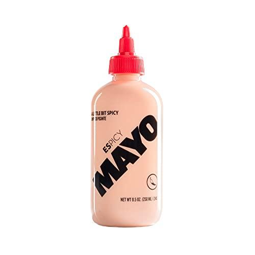ESPICY - Mayo 250 ml | Mayonesa | Ligeramente Picante | Cremosa | Sin Gluten | Apto para Vegetarianos | Keto Friendly | Hecho en España