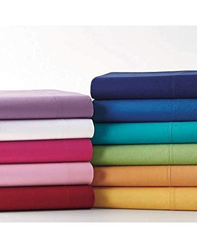 il dolce stile della tua casa Sábanas encimeras individuales, de puro algodón, fabricadas en Italia (azul)