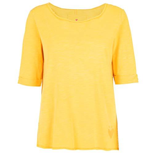 Lieblingsstück Damen Sweatshirt MajviL Mellow Yellow gelb - XL