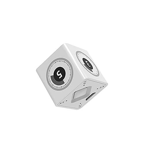 Temporizador de cocina digital para ducha/aprendizaje/cocina Cronómetro magnético cuenta regresiva temporizador de cocina electrónico 60 minutos (color LJN TM1)