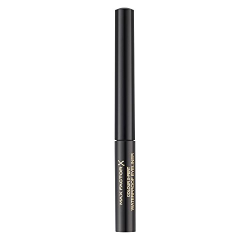 Max Factor Eyeliner Waterproof Colour X-Pert, Colore Intenso Fino a 8 Ore, 001 Deep Black, 2 ml