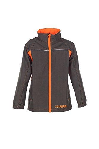 6132 Planam Junior Softshell Jacke oliv/orange (146/152)