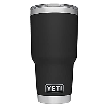 YETI Rambler 30 oz Stainless Steel Vacuum Insulated Tumbler w/ MagSlider Lid, Black