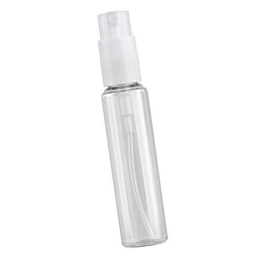 Guangcailun 12st 18ml Travel Spray-Flasche Mehrweg-Kunststoffpumpe Mist-Flasche für Lotion Kosmetik leeren
