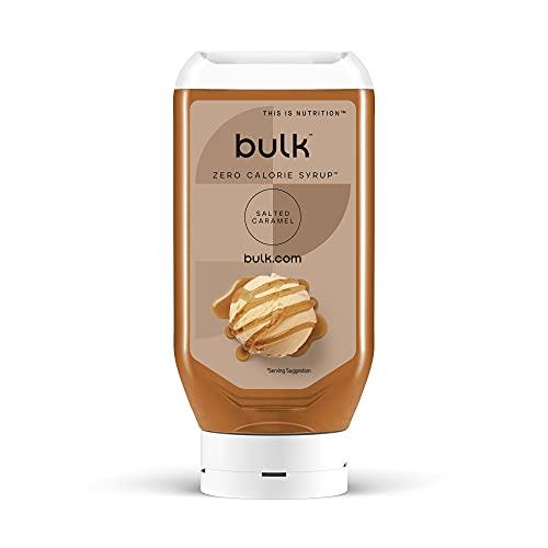 Bulk Kalorienfreier Sirup, Kalorienfrei, Zuckerfrei, Salted Caramel, 400 ml