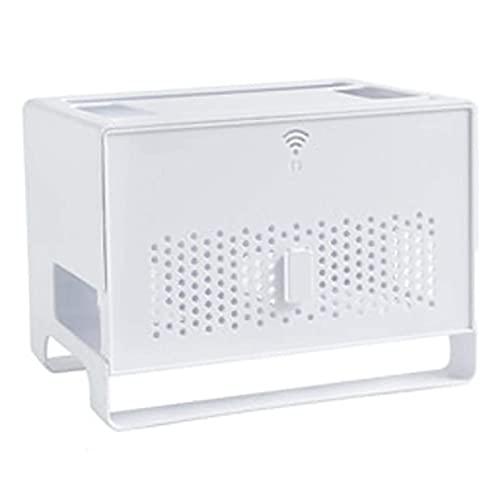 Caja De Internet, Caja Wifi, Caja De Almacenamiento De Enrutador Multifuncional Con Tapa, Estante, Decodificador De Oficina De Enchufe Grande Un Regalo Para Un Amigo