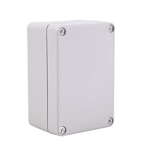 Caja De Conexiones Impermeable, TermopláStico ABS ProteccióN UV Antienvejecimiento Anticorrosivo AntiestáTico ConexióN Exterior Recinto Impermeable, Buen Aislamiento(100x68x50mm)