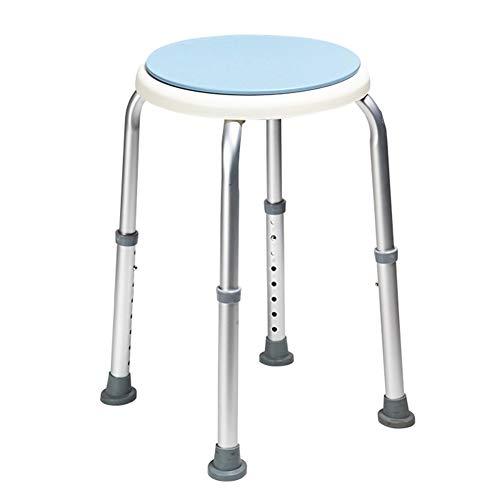 XXHDEE Aluminium douchekruk voor zwangere vrouwen en kinderen, antislip, duurzaam, lichtgewicht aluminium douchestoel