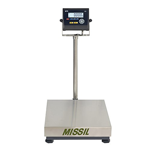 Industriële weegschaal slechts gewicht gram Missil F4 600 kg