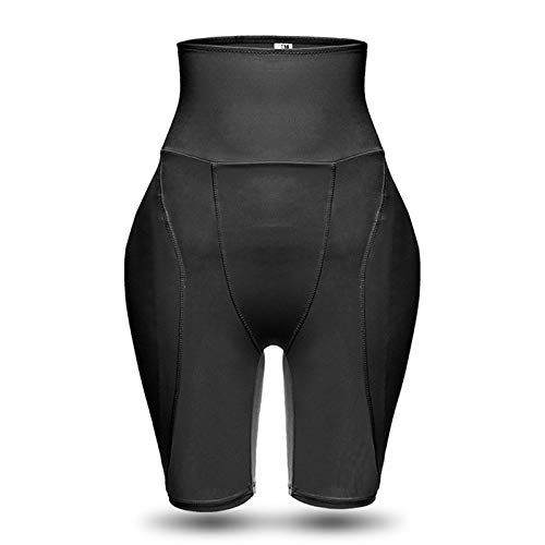 Pantalones levantadores de cadera, abdomen de cintura alta para mujer más almohadón de esponja, culo falso, nalgas y caderas, modelado del cuerpo después del parto, forma del cuerpo, nalgas (5XL)