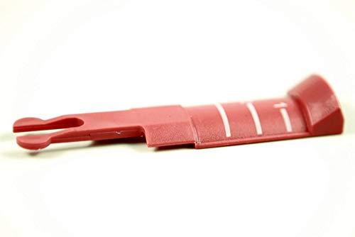Ersatz Schlauch-Schieber Regeler, Schalter für Staubsauger Schlauch, Saugschlauch passend für Vorwerk Tiger 251